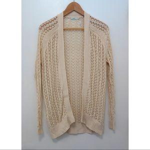 Kimchi blue long cardigan knit sweater xs